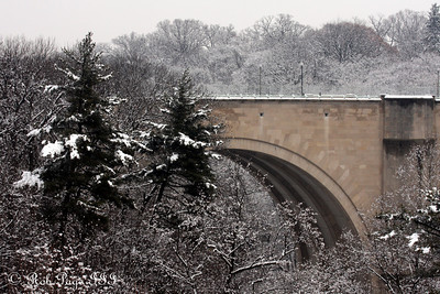 The Calvert St. Bridge - Washington, DC ... February 3, 2010 ... Photo by Rob Page III