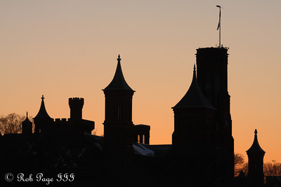 The Smithsonian Castle - Washington, DC ... January 31, 2010 ... Photo by Rob Page III
