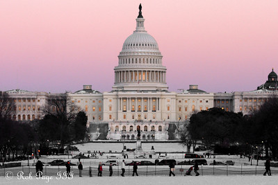The National Capitol - Washington, DC ... January 31, 2010 ... Photo by Rob Page III