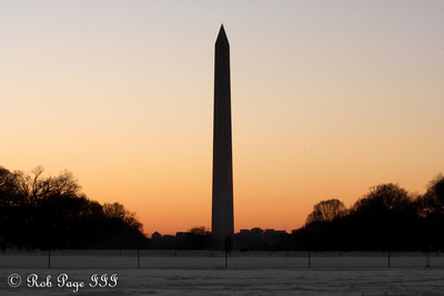 The Washington Monument - Washington, DC ... January 31, 2010 ... Photo by Rob Page III