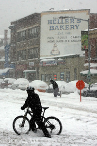 Bikes don't work too well when the sky dumps 10s of inches of snow (Cars have a similar problem) - Washington, DC ... December 19, 2009 ... Photo by Rob Page III