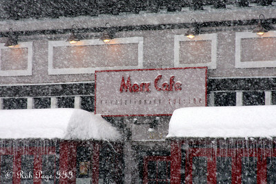 The Marx Cafe - Washington, DC ... December 19, 2009 ... Photo by Rob Page III