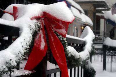 It looks to be a White Christmas - Washington, DC ... December 19, 2009 ... Photo by Rob Page III