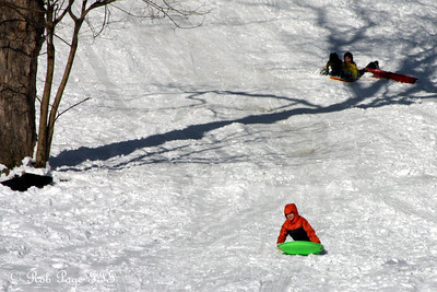 Sledding in Rock Creek - Washington, DC ... December 20, 2009 ... Photo by Rob Page III