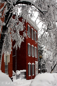 A snowy Georgetown - Washington, DC ... February 6, 2010 ... Photo by Rob Page III