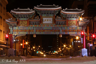Chinatown - Washington, DC ... February 7, 2010 ... Photo by Rob Page III