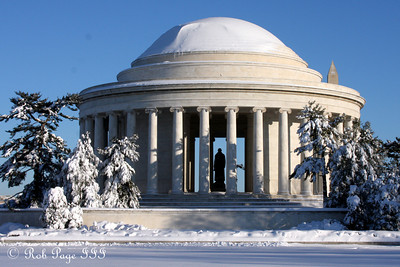 The Jefferson Memorial - Washington, DC ... February 7, 2010 ... Photo by Rob Page III