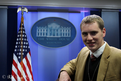 Rob at the White House - Washington, DC ... December 16, 2009