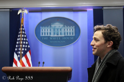 Steve at the White House - Washington, DC ... December 16, 2009 ... Photo by Rob Page III