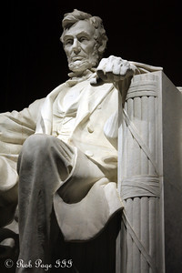 Abraham Lincoln - Washington, DC ... December 31, 2011 ... Photo by Rob Page III