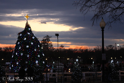 The National Christmas Tree - Washington, DC ... December 31, 2011 ... Photo by Rob Page III