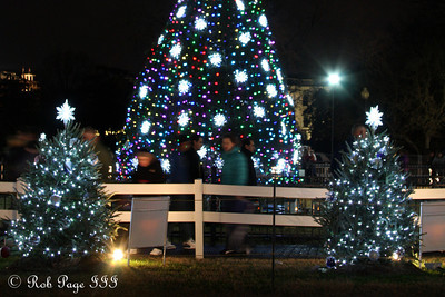 Visiting the National Christmas Tree - Washington, DC ... January 1, 2012 ... Photo by Rob Page III