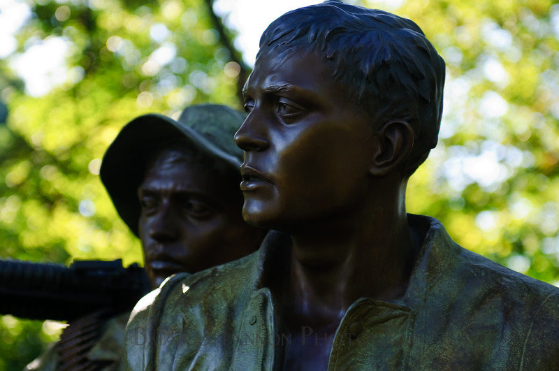Vietnam Veterans statue by Brian Shannon