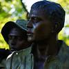 Vietnam Veterans statue by Brian Shannon