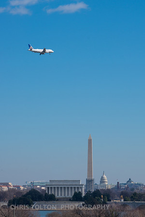 Flight Past the National Mall