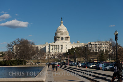 US Capitol from 3rd St SW