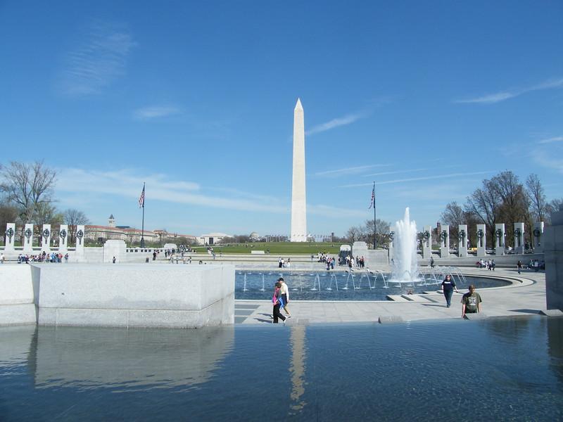 World War II and Washington Memorials