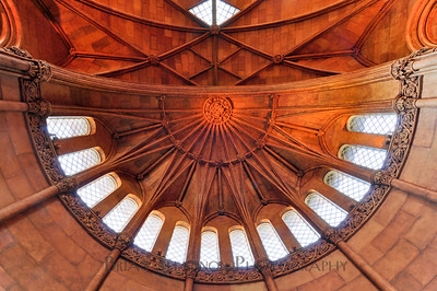 Smithsonian Castle dome interior
