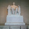 inside Lincoln Memorial ~ 100 foot tall monument