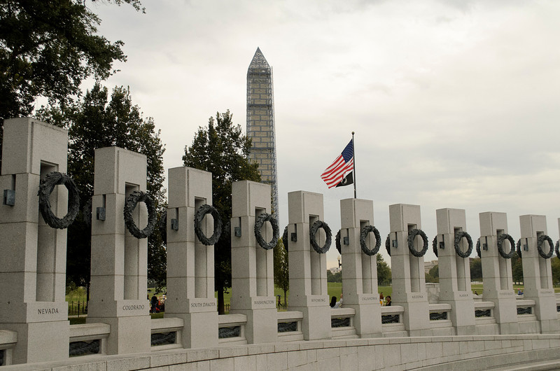WWII / Washington monuments