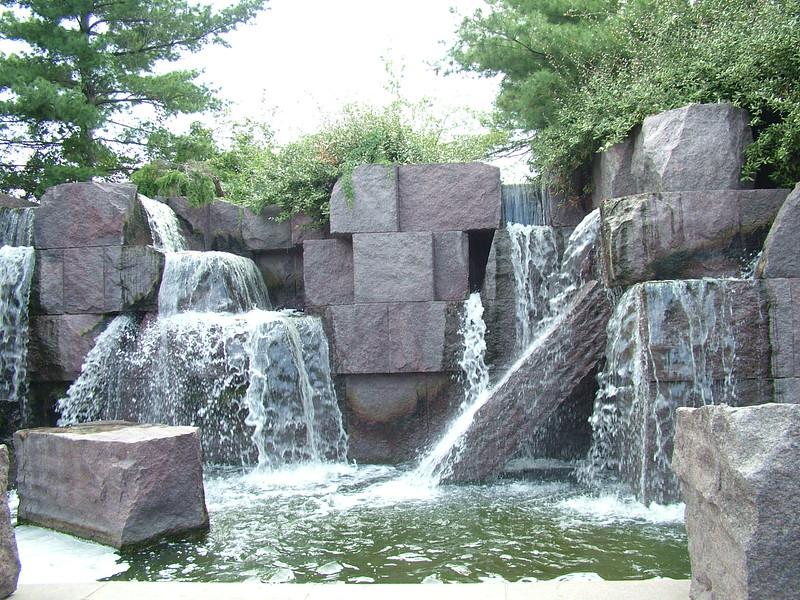 part of FDR's Memorial ~ Washington DC