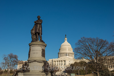 US Capitol and President Garfield