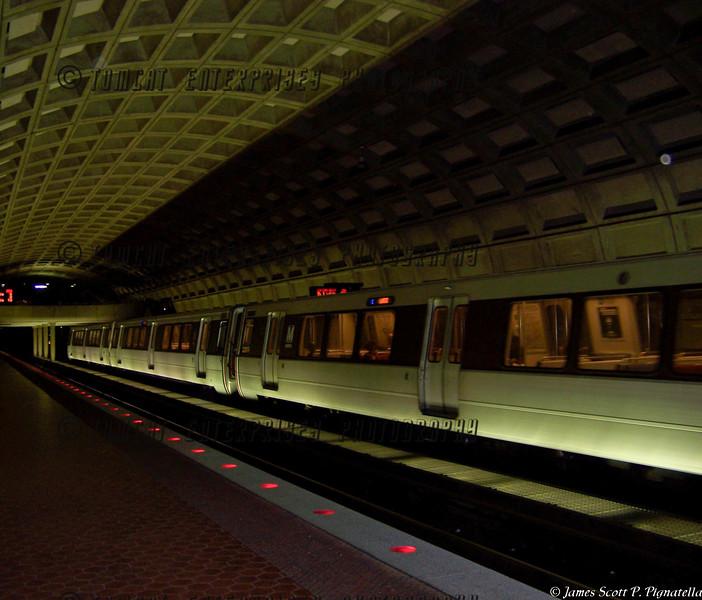 Metro at Night