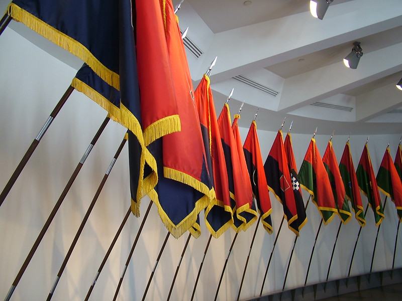 Hall of Flags - Holocaust Memorial Museum - Washington, DC