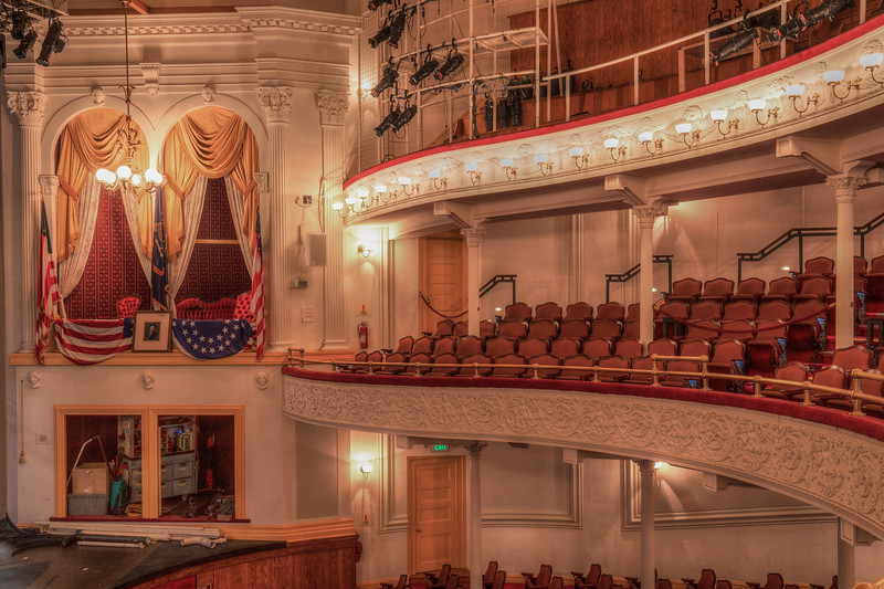 Fords Theater ( Place where Lincoln was assassinated )