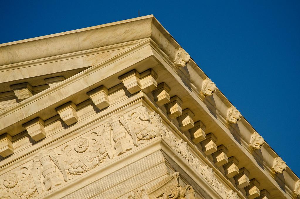 Supreme Court cornice