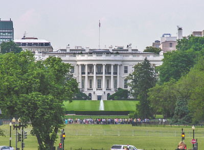 The White House...view from the Washington Monument