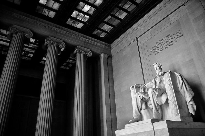 The Lincoln Memorial. 2010.