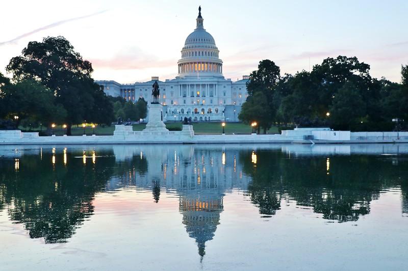 US Capitol Summer Morning