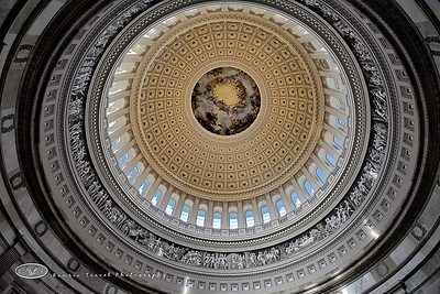 Capitol dome ceiling