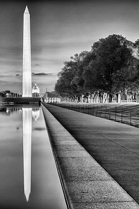 Washington Monument at the Reflecting Pool