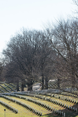 Arlington National Cemetary in Winter