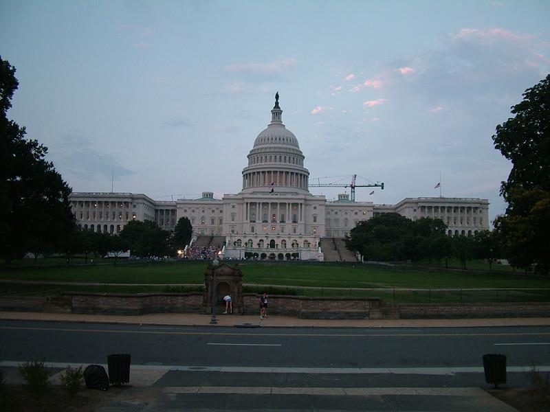 Capital in Washington DC