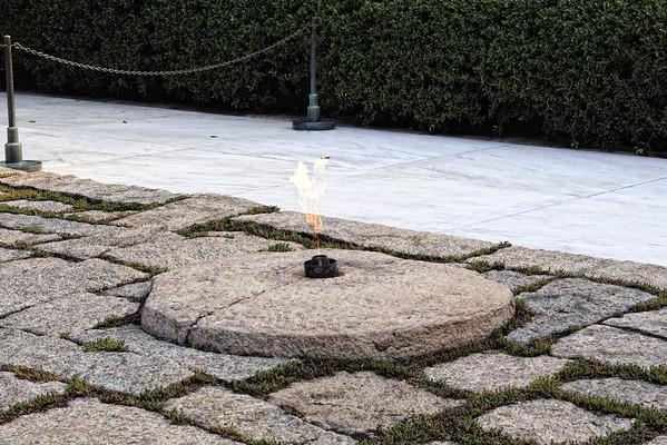 "John F. Kennedy ""Eternal Flame"""