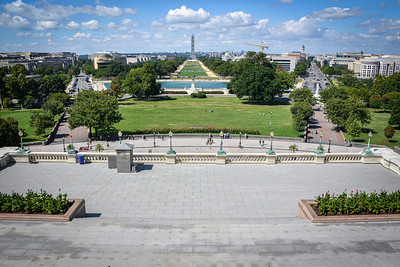 From The Capitol Building looking down The Mall