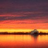 View of the Jefferson Memorial at Sunrise