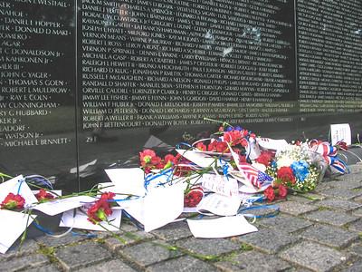 Vietnam Veteran's Memorial Wall