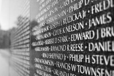 Names of the fallen
