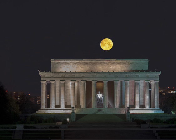 Moon Over Lincoln