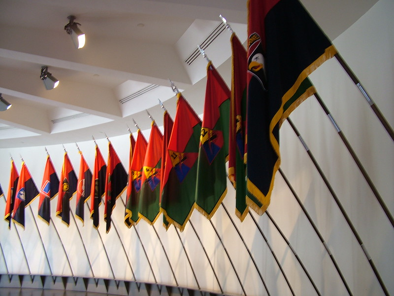 Hall of Flags - Holocaust Memorial Museum - Washington, DC