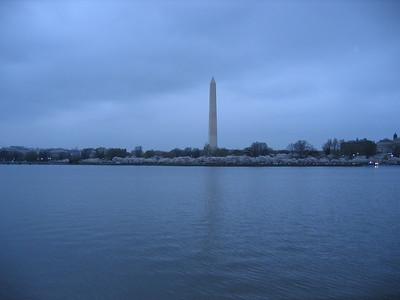 Tidal Basin near the Jefferson Memorial