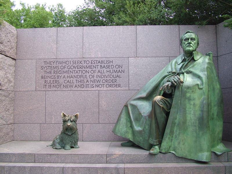 Franklin D Roosevelt Memorial ~ Washington DC