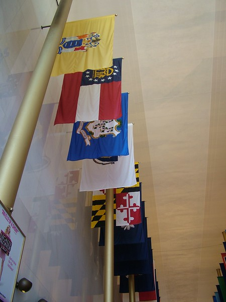 Hall of Flags - Kennedy Center for the Performing Arts - Washington, DC