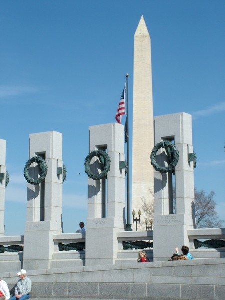 World War II Memorial ~ Washington DC