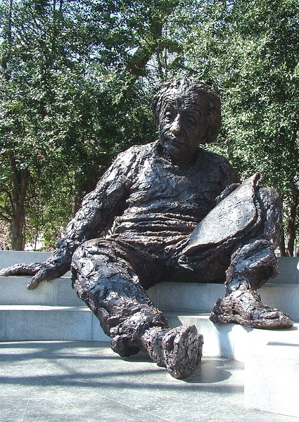Albert Einstein Memorial ~ Washington, DC