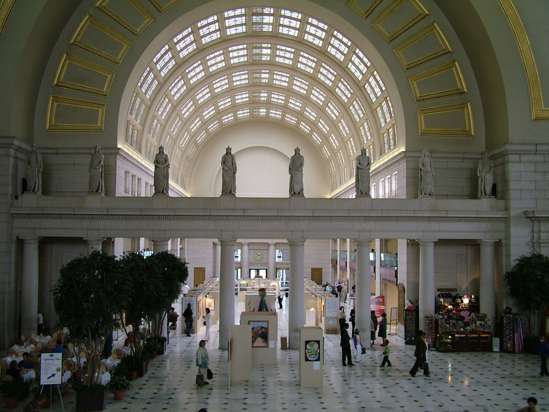 Inside Union Station ~ Washington DC